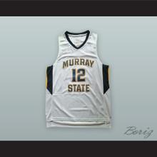 Ja Morant 12 Murray State White Basketball Jersey