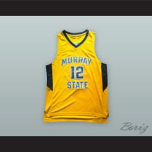 Ja Morant 12 Murray State Yellow Basketball Jersey