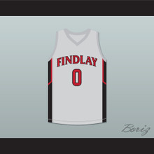 Bol Bol 0 Findlay Prep Gray Basketball Jersey 2