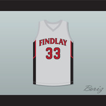 Bol Bol 33 Findlay Prep Gray Basketball Jersey 1