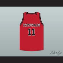 Shareef O'Neal 11 Crossroads School Roadrunners Red Basketball Jersey 1