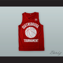 Prodigy 00 Queensbridge Tournament H.N.I.C. Red Basketball Jersey
