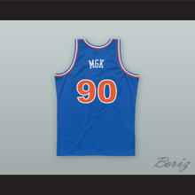 MGK 90 Old School Blue Basketball Jersey
