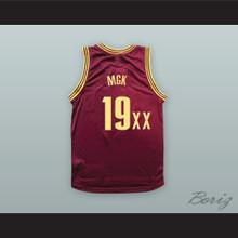 MGK 19XX Maroon Basketball Jersey