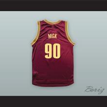 MGK 90 Maroon Basketball Jersey