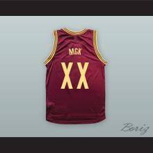 MGK XX Maroon Basketball Jersey