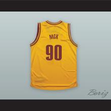 MGK 90 Yellow Basketball Jersey