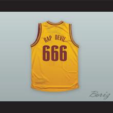 MGK 666 RAP DEVIL Yellow Basketball Jersey