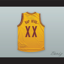 MGK XX RAP DEVIL Yellow Basketball Jersey