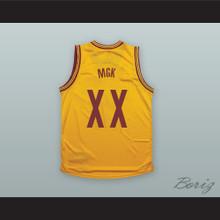 MGK XX Yellow Basketball Jersey
