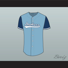 Tampa Smokers Baseball Jersey Stitch Sewn Any Player Light Blue