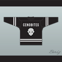 Chatterer 4 Cenobites Black Hockey Jersey Hellraiser Series