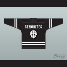 The Doctor 5 Cenobites Black Hockey Jersey Hellraiser Series