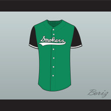 Tampa Smokers Baseball Jersey Stitch Sewn Any Player Green