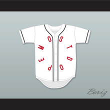 Mac Miller 1 Most Dope White Baseball Jersey 1