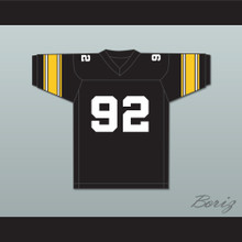 Mac Miller 92 Most Dope Black Football Jersey 2