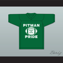 Colin Kaepernick 4 Pitman Pride Practice Green Football Jersey 1