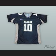 Colin Kaepernick 10 Nevada Navy Blue Football Jersey
