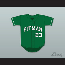 Colin Kaepernick 23 John H. Pitman High School Pride Green Baseball Jersey 1