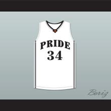 Colin Kaepernick 34 John H. Pitman High School Pride White Basketball Jersey 2