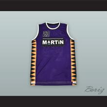 Martin Payne 23 Purple Basketball Jersey