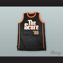 Fugees 96 The Score Black Basketball Jersey