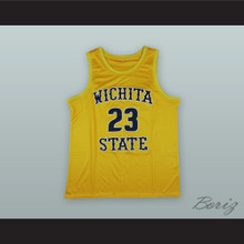 Fred VanVleet 23 Wichita State Yellow Basketball Jersey