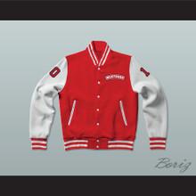 Dean Youngblood 10 Hamilton Mustangs Varsity Letterman Jacket-Style Sweatshirt