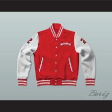 Huey Hewitt 2 Hamilton Mustangs Varsity Letterman Jacket-Style Sweatshirt