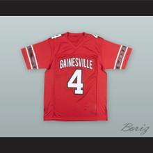 Deshaun Watson 4 Gainesville High School Red Football Jersey