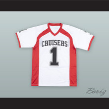 Le'Veon Bell 1 Groveport Madison High School Cruisers White Football Jersey