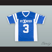 Luke Kuechly 3 St. Xavier High School Blue Football Jersey