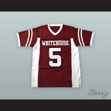 Patrick Mahomes 5 Whitehouse High School Wildcats Maroon Alternate Football Jersey