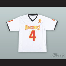 Richard Sherman 4 Manuel Dominguez High School White Football Jersey