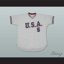 Matt LaPorta 5 USA Team Baseball Jersey New Any Size or Player