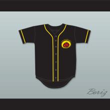 Kenan Thompson 94 All That Button Down Black Baseball Jersey 2