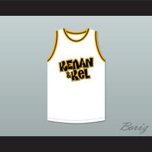 Kel Mitchell 2 Kenan & Kel White Basketball Jersey 1