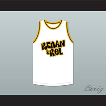 Kenan Thompson 1 Kenan & Kel White Basketball Jersey 1