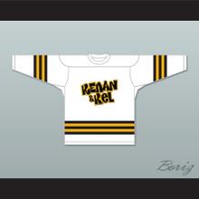 Kel Mitchell 2 Kenan & Kel White Hockey Jersey 1