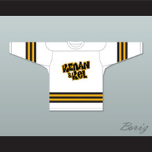 Kel Mitchell 2 Kenan & Kel White Hockey Jersey 2