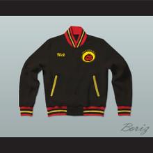 Nick Cannon All That Black Varsity Letterman Jacket-Style Sweatshirt