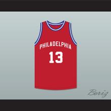 Jazz Junior 13 Philadelphia Red Basketball Jersey