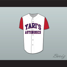 Larry David Yari's Autonomics Buckner Baseball Jersey Stitch Sewn Deluxe Edition