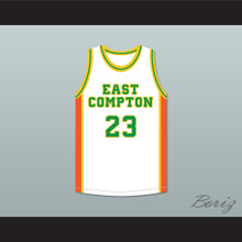 East Compton Clovers White Basketball Jersey