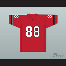 Will Smith 88 Fashion Red Football Jersey