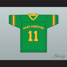 East Compton Clovers Green Football Jersey