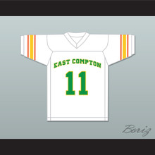 East Compton Clovers White Football Jersey