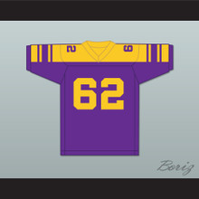 Steve-O 62 Youth League Purple Football Jersey