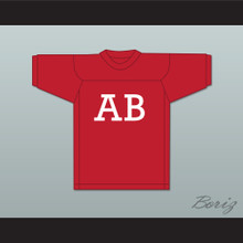 Alpha Beta Fraternity Red Football Jersey Revenge of the Nerds