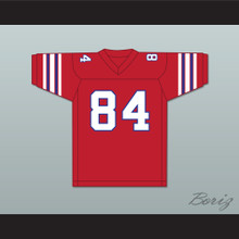 Danny Burke 84 Adams College Atoms Red Football Jersey Revenge of the Nerds